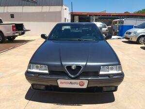 Alfa Romeo 164 3.0 V6 Cinza 1995