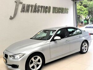 BMW 320i 2.0 Turbo Prata 2014
