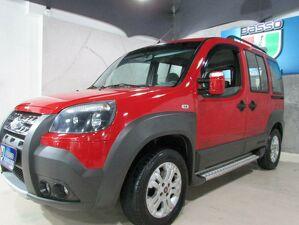 Fiat Doblò 1.8 Adventure 16V Vermelho 2013