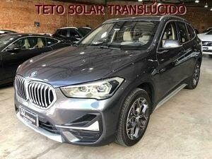 BMW X1 2.0 20I X-line Sdrive Turbo Cinza 2020