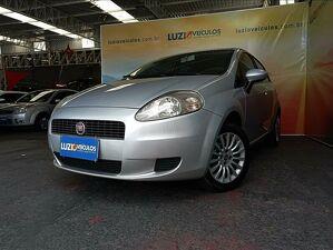 Fiat Punto 1.4 Attractive 8V Prata 2012