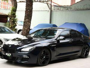 BMW 650i 4.4 Gran Turbo V8 Azul 2015