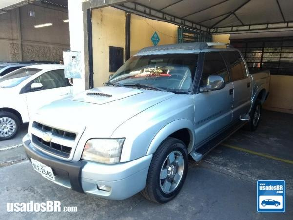 CHEVROLET S10 2.8 EXECUTIVE 12V TURBO Prata 2009