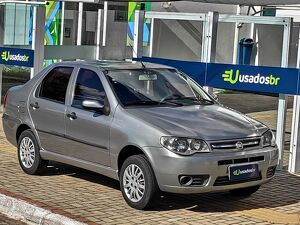 FIAT SIENA 1.0 FIRE CELEBRATION 8V Cinza 2011