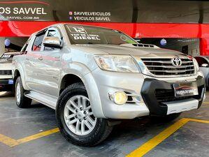 Toyota Hilux 3.0 SRV Top Turbo Prata 2012