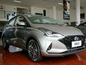 Hyundai HB20 1.0 TGDi Diamond Plus Prata 2021