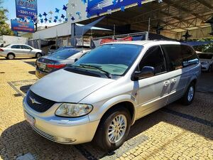 Chrysler Grand Caravan 3.3 Limited V6 Prata 2003