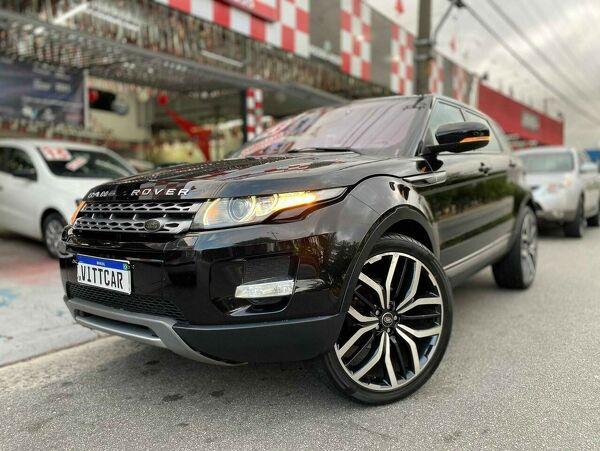 Land Rover Range Rover Evoque 2.0 Pure Tech Preto 2013