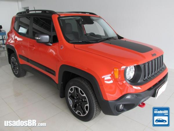 Foto do veiculo JEEP RENEGADE 2.0 TRAILHAWK TURBO Laranja 2016