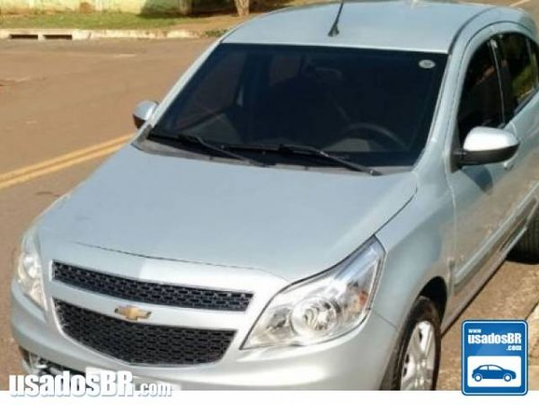 CHEVROLET AGILE 1.4 MPFI LTZ 8V FLEX 4P MANUAL Prata 2011