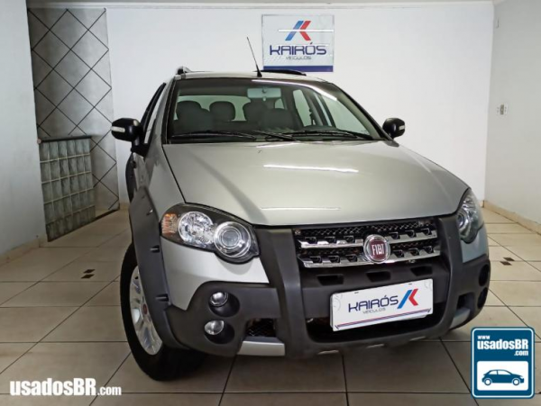 FIAT PALIO WEEKEND 1.8 ADVENTURE 16V Prata 2011