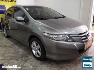 HONDA CITY 1.5 DX Cinza 2012