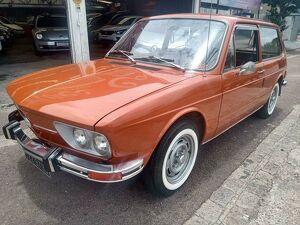 Volkswagen Brasilia 1.6 8V Laranja 1974