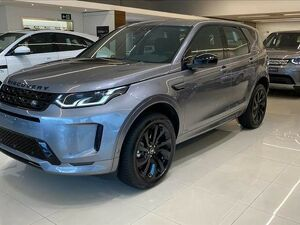 Land Rover Discovery Sport 2.0 P250 Turbo R-dynamic SE Cinza 2021