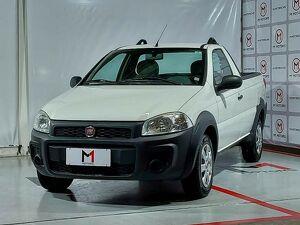Fiat Strada CS 1.4 Hard Working Branco 2019