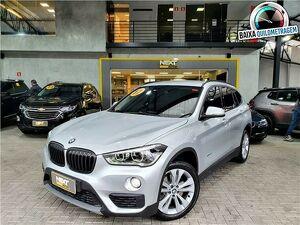 BMW X1 2.0 20I Sdrive Turbo Prata 2017