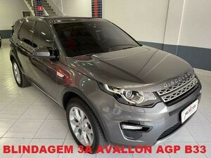 Land Rover Discovery Sport 2.0 D240 Biturbo HSE Cinza 2018