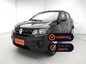Renault Kwid 1.0 Life Preto 2020