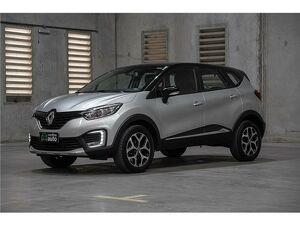 Renault Captur 1.6 Intense Prata 2019