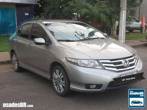 HONDA CITY 1.5 LX Cinza 2014