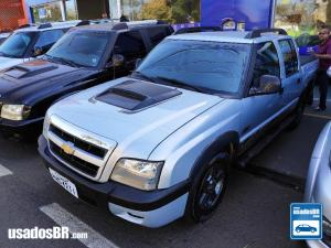 CHEVROLET S10 2.8 BARRETOS 12V TURBO Prata 2011