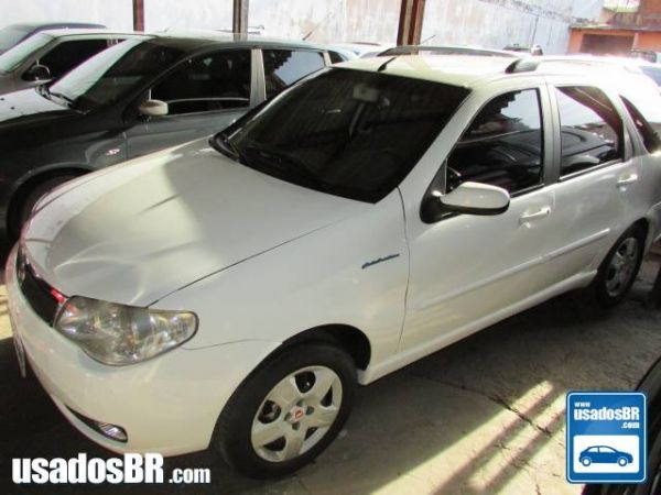 FIAT PALIO WEEKEND 1.8 HLX 8V Branco 2006