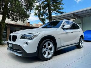 BMW X1 2.0 20I SDRIVE TURBO Branco 2013