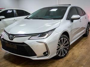 Toyota Corolla 1.8 Altis Premium Hybrid Prata 2022