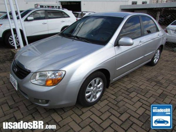 KIA CERATO 1.6 EX SEDAN 16V GASOLINA 4P MANUAL Prata 2008