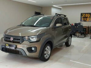 Fiat Mobi 1.0 WAY Cinza 2018