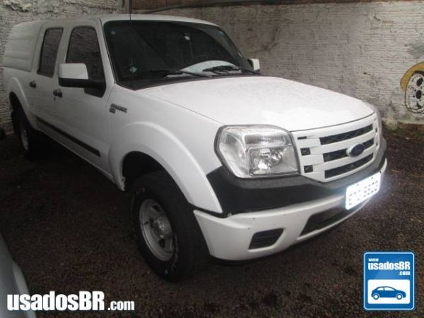 FORD RANGER 2.3 XLS 16V 4X2 CD GASOLINA 4P MANUAL Branco 2011