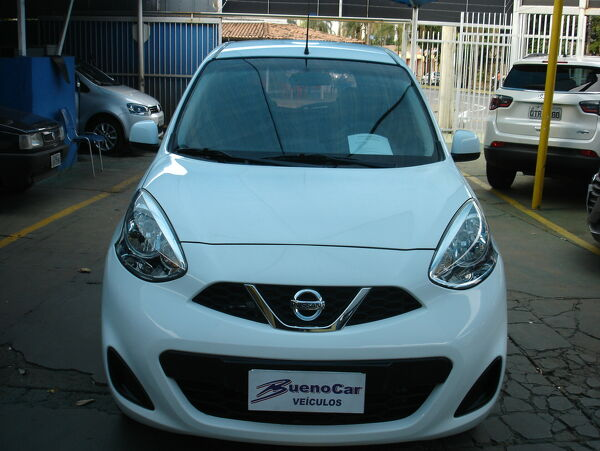 NISSAN MARCH 1.0 S Branco 2017