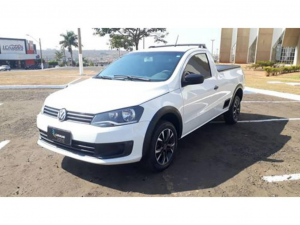 VOLKSWAGEN SAVEIRO 1.6 MI TREND CS 8V FLEX 2P MANUAL G.IV Branco 2015