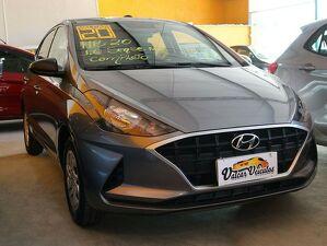 Hyundai HB20 1.0 12V Sense Cinza 2020