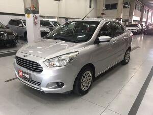 Ford KA 1.5 SE Plus 16V Prata 2016