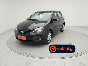 Toyota Etios 1.5 X Preto 2020