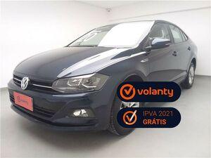 Volkswagen Virtus 1.0 200 TSI Comfortline Azul 2020