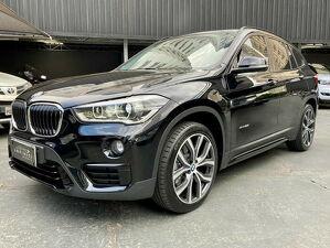 BMW X1 2.0 25I Sport Xdrive Turbo Preto 2016