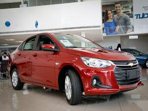Chevrolet Onix 1.0 Turbo Plus LTZ Vermelho 2021
