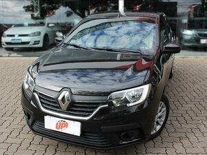 Renault Logan 1.0 12V SCE ZEN Preto 2020