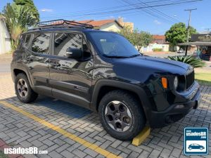 JEEP RENEGADE 2.0 CUSTOM TURBO Preto 2018