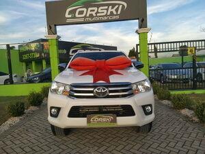 Toyota Hilux 2.7 SRV Branco 2018