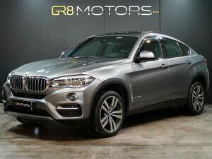 BMW X6 4.4 50I 8 Cilindros Bi-turbo Cinza 2015