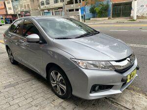 Honda City 1.5 EX Cinza 2017