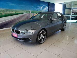 BMW 328i 2.0 16V Cinza 2013