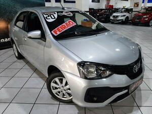 Toyota Etios 1.5 X Plus 16V Prata 2020