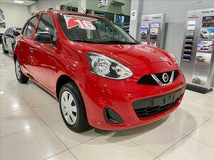 Nissan March 1.0 S Vermelho 2016
