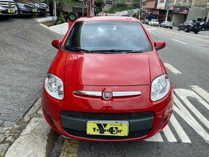 Fiat Palio 1.4 Attractive 8V Vermelho 2015