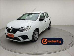 Renault Sandero 1.0 12V SCE Life Branco 2020