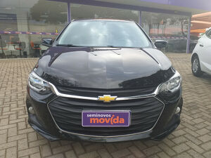 Chevrolet Onix 1.0 LT 12V Preto 2020